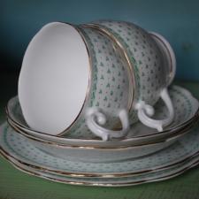 Lovely green tea set