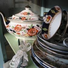 Vintage tea collection