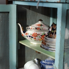 Cupboard of vintage