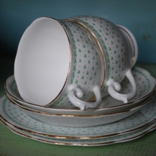 Lovely green tea set